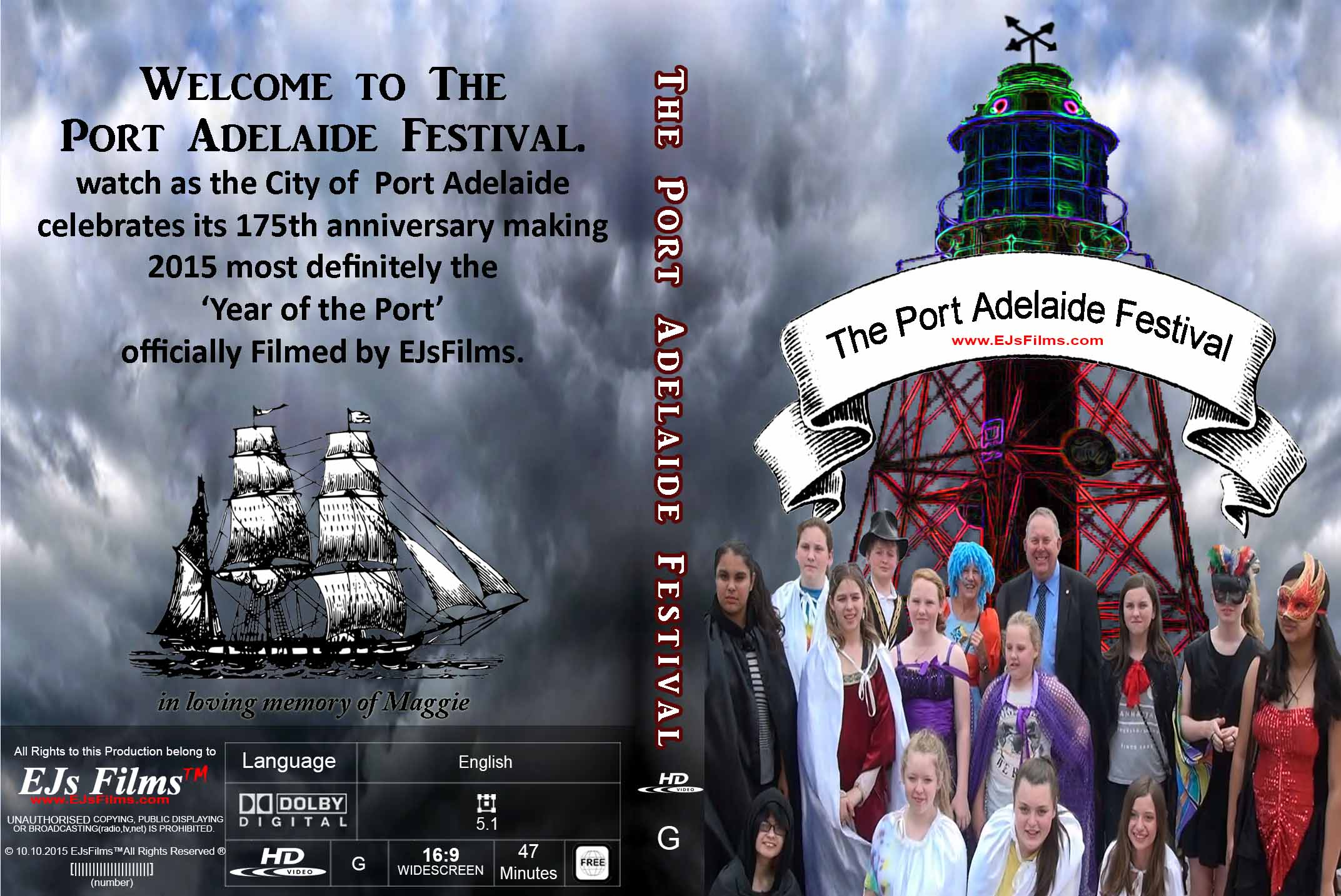 The Port Adelaide Festival | G | Documentary | 2015 | by EJsFilms.com -
