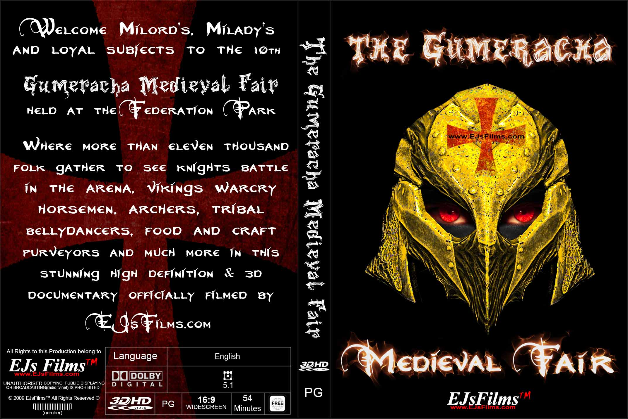 The Gumeracha Medieval Fair (3D) | PG | Documentary | 2016 | by EJsFilms.com -